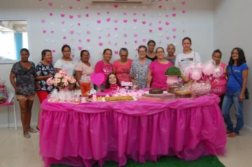 """UBSF Maria do Carmo faz evento alusivo ao """"Outubro Rosa"""""""