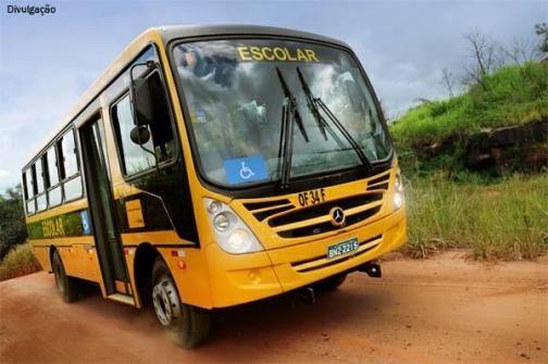Município receberá em breve mais dois ônibus para o transporte escolar