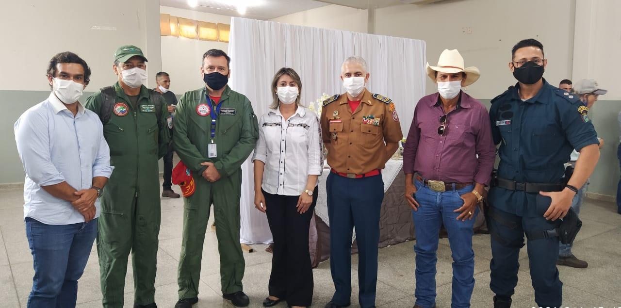 Secretário de Governo garante que a unidade do Corpo de Bombeiros será construída em Água Clara