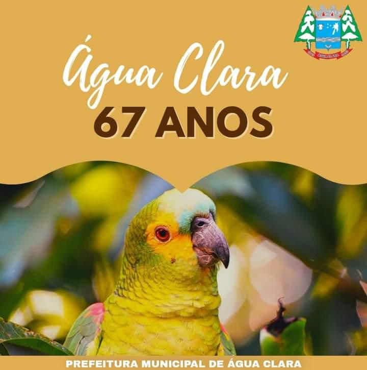 ÁGUA CLARA 67 ANOS