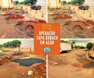 OPERAÇÃO TAPA BURACO