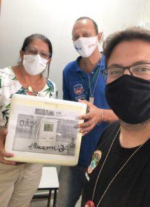 Água Clara recebe mais 90 doses da vacina contra Covid-19, Secretaria de Saúde anuncia a 5ª etapa de vacinação contra o Novo Coronavírus