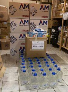 Prefeitura Municipal de Água Clara recebe doação da empresa Suzano, de materiais na luta contra COVID-19