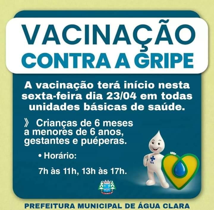 Campanha de vacinação contra a gripe (influenza)