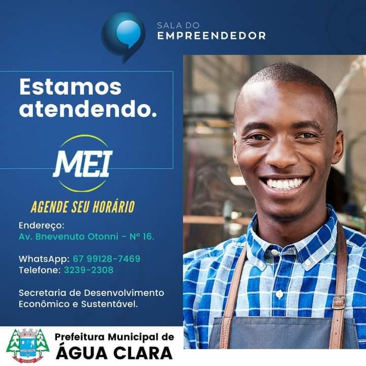 Sala do Empreendedor atenderá o Micro Empreendedor Individual (MEI).