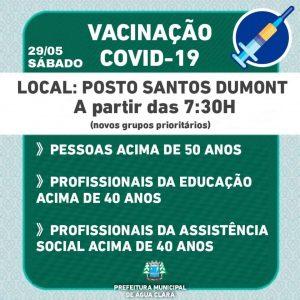 NOVO GRUPO VACINAÇÃO CONTRA  COVID-19