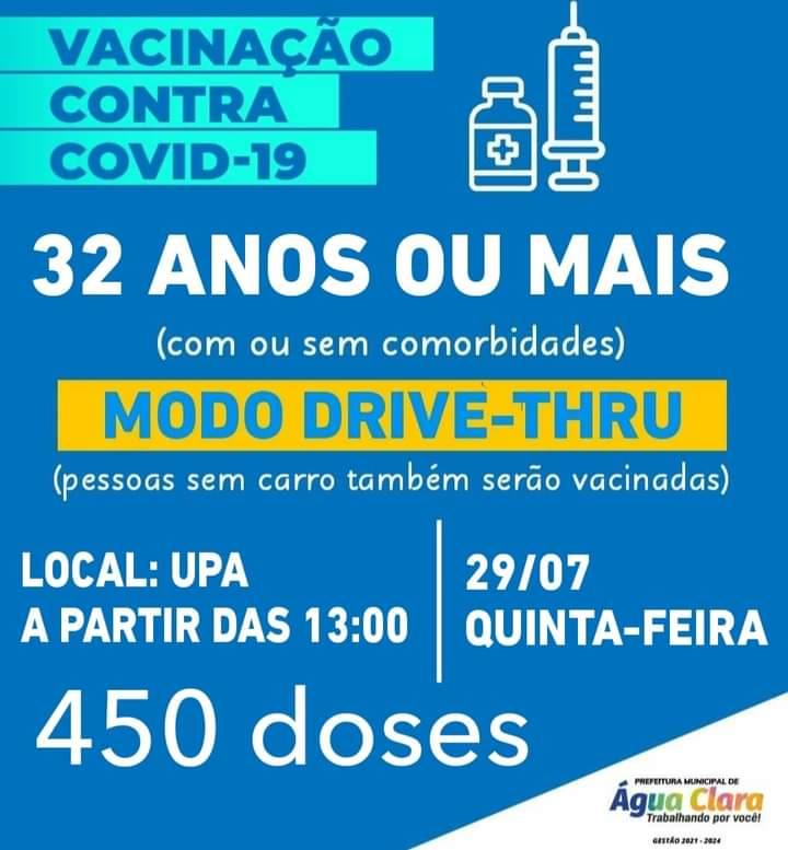 NOVA ETAPA DE VACINAÇÃO CONTRA A COVID-19: