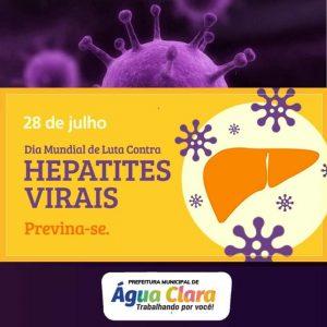 Dia mundial da Luta contra Hepatites Virais
